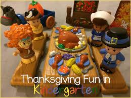 thanksgiving in kindergarten kindergarten