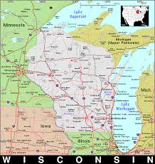 Wisconsin Topographic Map by Wi Wisconsin Public Domain Maps By Pat The Free Open Source