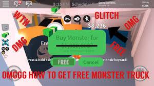 free monster truck jailbreak roblox