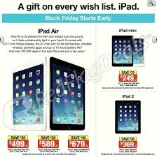 apple deals black friday staples black friday sale 16gb ipad mini for 249 plus other