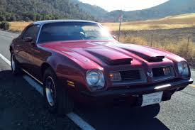 Last Year Of Pontiac Firebird 26k Mile 1975 Pontiac Firebird Formula