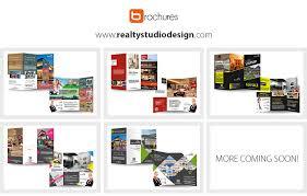 real estate brochure templates real estate agent brochure templates