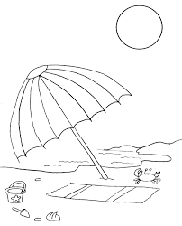 large umbrella coloring page coloring pictures of beach umbrellas coloring page beach umbrella