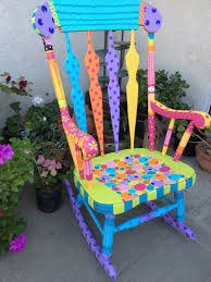 painted chairs images best 25 painted rocking chairs ideas on pinterest rocking
