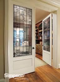 Decorative Glass Doors Interior Decorative Glass Doors Define This Home Office