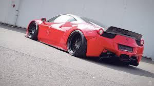 subaru liberty walk liberty walk ferrari 458 italia von jp performance addicted to
