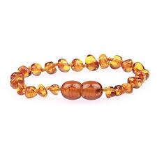 amber beads bracelet images Amber teething bracelet anklet polished cognac baltic amber jpg