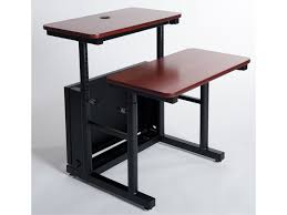 Split Level Drafting Table Split Level Adjustable Classroom Table St Versatables