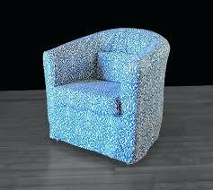 ikea tullsta chair cover print slipcover indigo pattern