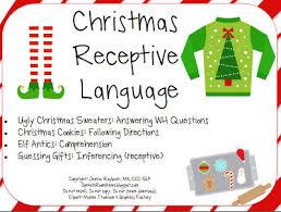 christmas packets speech room news