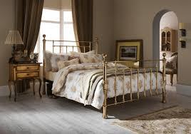 serene benjamin 6ft super king size brass metal bed frame by