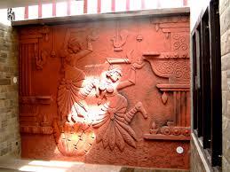 terracotta wall relief mural u003c3 terracotta art pinterest