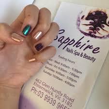 sapphire nails spa u0026 beauty elsternwick home facebook