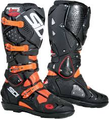 black motorcycle boots sidi crossfire 2 srs black black motorcycle boots ec 45 ebay