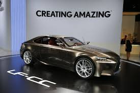 lexus lf lc black lexus lf cc concept this is what an is coupe may look like