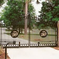 ornamental aluminum fencing operator entry systems fence