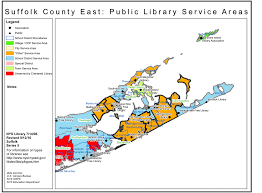 Southampton New York Map by Suffolk County Public Library Earthquake Spectral Acceleration