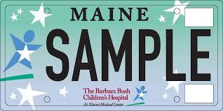 Maine Vanity License Plates Bbch Specialty License Plate Rowe Ford Auburn