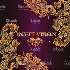 Designs For Invitation Card Luxury Royal Invitation Card For Design Stock Vector Art 470441028