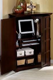 Computer Corner Armoire Small Corner Computer Armoire Kwameanane