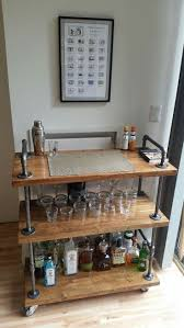 best 25 rolling bar cart ideas on pinterest diy outdoor bar
