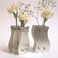 25th wedding anniversary gift 25th anniversary sterling silver vases unique silver anniversary