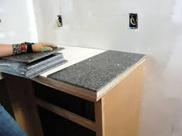 How To Organize Your Kitchen Counter How To Install A Granite Tile Kitchen Countertop How Tos Diy