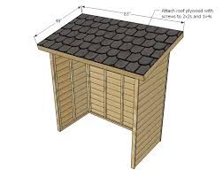 How To Build A Small Backyard Storage Shed by Ana White Small Cedar Fence Picket Storage Shed Diy Projects