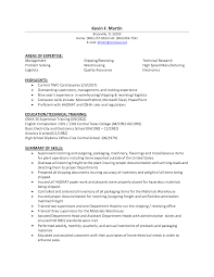 Warehouse Clerk Resume Sample Shipping And Receiving Resume 22 Additional Skills Warehouse