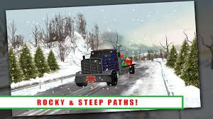 christmas tree transport truck android apps on google play