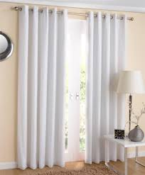 White Curtains With Green Leaves by Ring Top Voile Curtains Nrtradiant Com