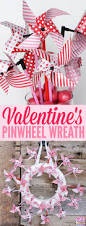 how to make a valentine u0027s day pinwheel wreath