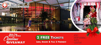 how the grinch stole musical free tickets raffle 24