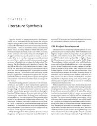 sample of synthesis essay chapter 2 literature synthesis quantifying the benefits of page 5