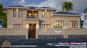 modern house 400 square yards kerala home design and floor plans