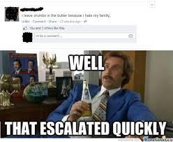 Butter Meme - crumbs in the butter by spudnik69 meme center