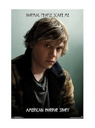 american horror story tate normal people scare me poster topic