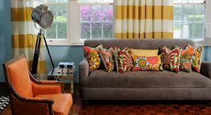 living room decorative pillows decorative pillows striped linen drape