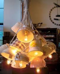 Homemade Light Decorations Best 25 Tea Cup Lamp Ideas On Pinterest Reading Table Teapot