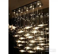 modern ceiling lights for dining room modern fashion glass fish
