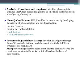 Format Of Job Resume by Recruitment Process Of Habib Bank Limited