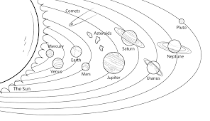 solar system color pages coloring pages online