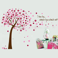 wall sticker cherry tree removable mural decal art diy home room