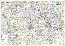 iowa map with cities maps digital maps state maps iowa bicycle map