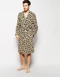 robe de chambre leopard asos asos robe de chambre imprimé léopard