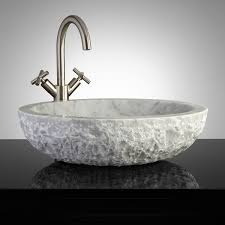 Unique Vessel Sink Vanities Bathrooms Design Copper Farmhouse Sink Travertine Vessel Sink