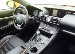 black lexus interior 2016 lexus rc 350 f sport review u2013 slower than it looks better