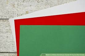 how to make christmas cards if you u0027re not crafty 6 steps