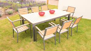 8 Seater Patio Table And Chairs 30 Best Of 5 Wicker Patio Set Images 30 Photos Home