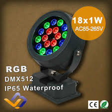 Rgb Landscape Lights 18w Rgb Led Outdoor Flood Light Colorful Projection L